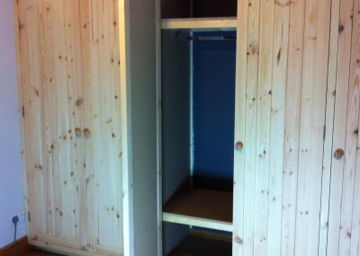 Pine cottage wardrobes
