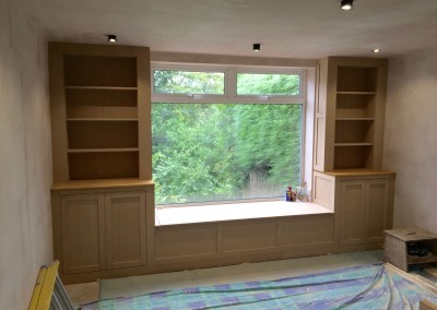 Lounge bookcases & storage unit