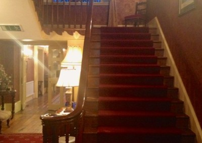 Country house staircase