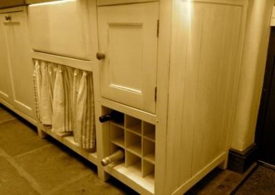 Cottage kitchen cupboards