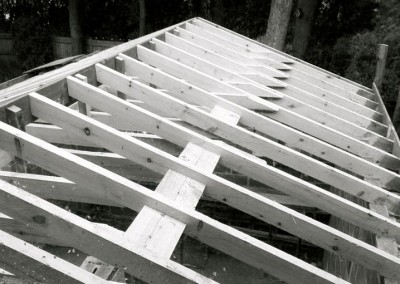 Traditional rafters