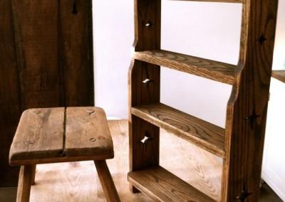 Rustic oak furniture