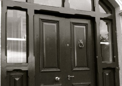 Entrance door & frame