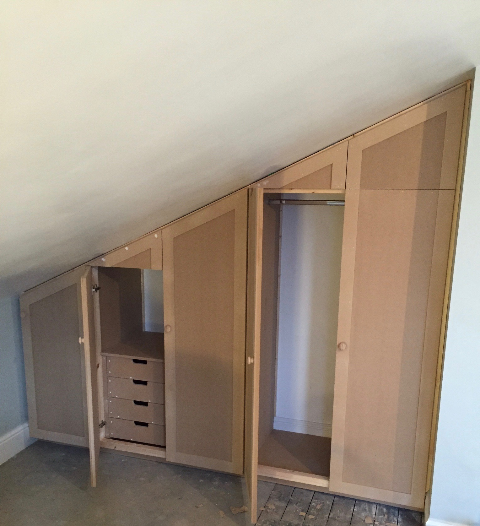 Wardrobes For Loft Space Timber Traditions