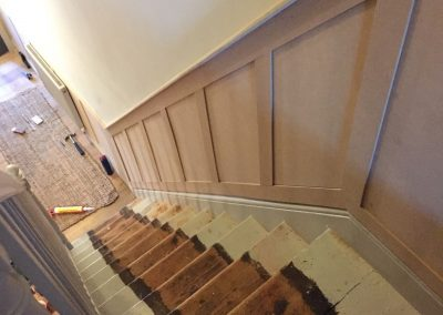 Panelling (pre painting)
