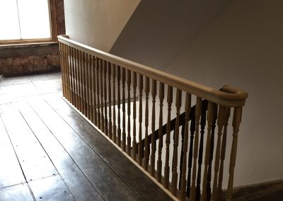 Georgian staircase restoration