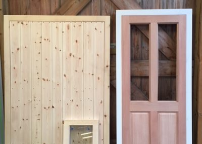 Handmade items for oak framed garage